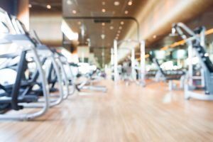 40085856 - abstract blur gym background